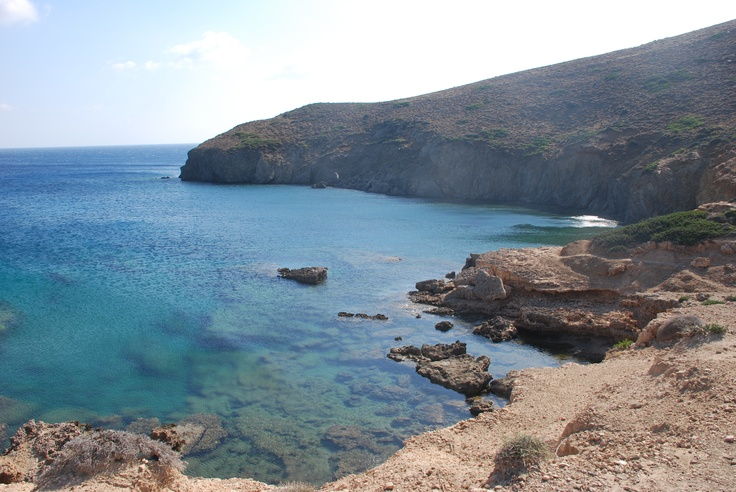 One of the many beaches in Astipalea