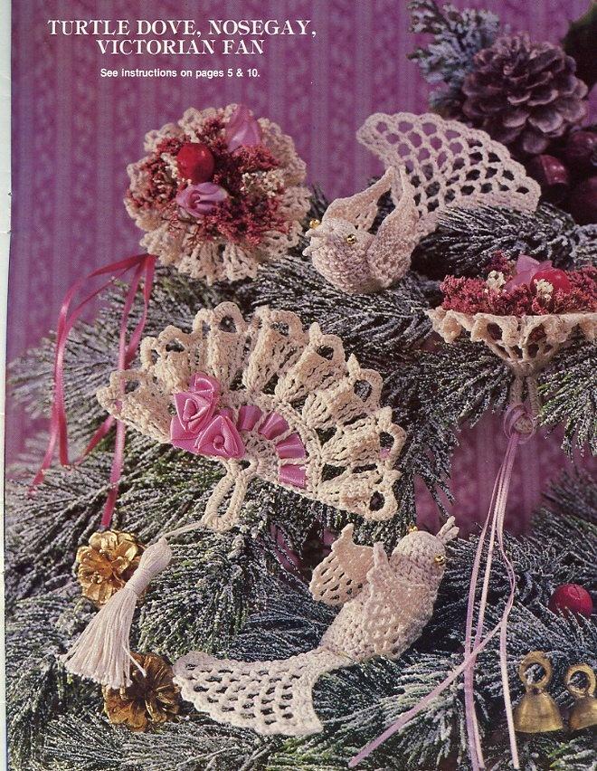 -Victorian Crochet Ornaments Pattern Decorations