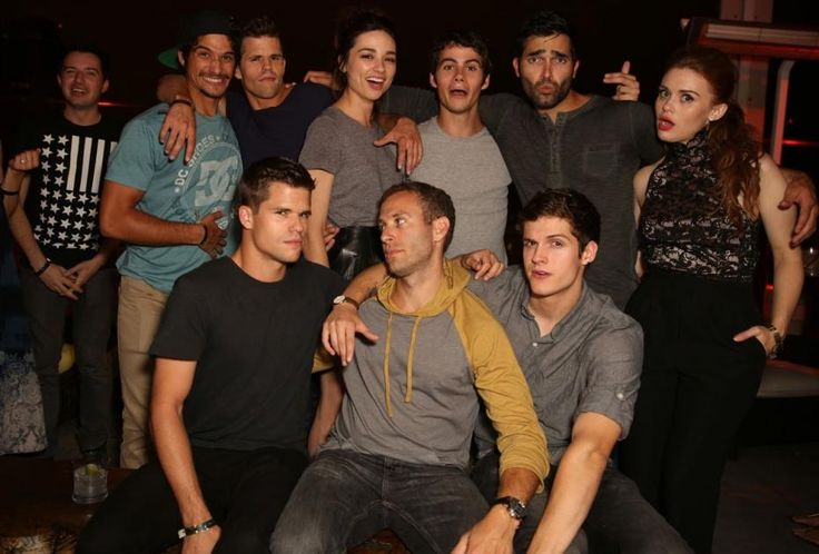 Teen Wolf Cast | maxim fx comic con party 2013 crystal reed holland roden max charlie ...