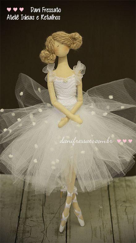 Ideias e Retalhos por Dani Fressato: Ternura de Bailarina
