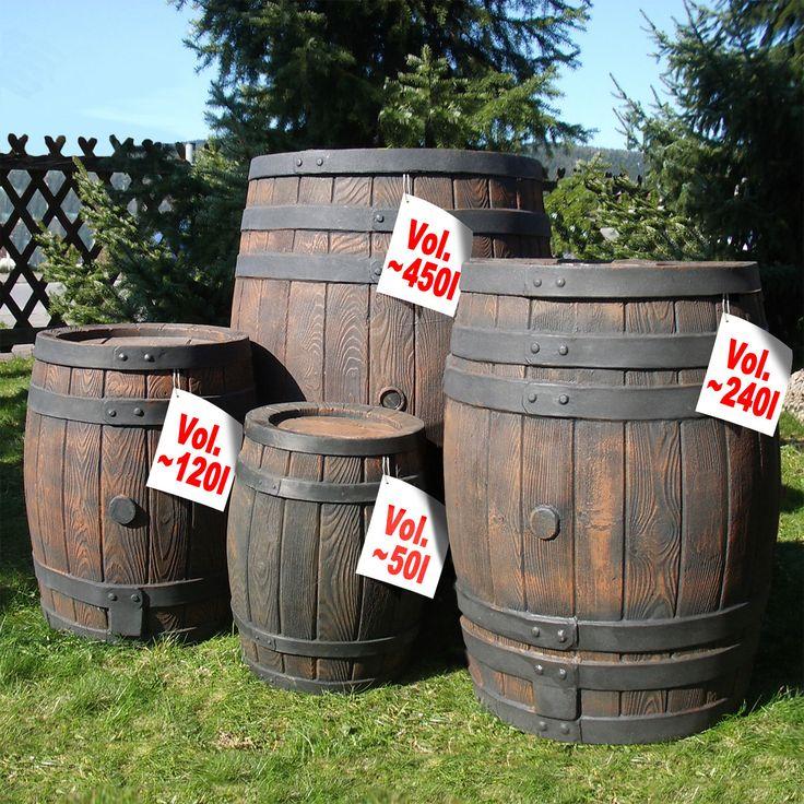 17 mejores ideas sobre barril de agua de lluvia en - Deposito de agua de lluvia ...