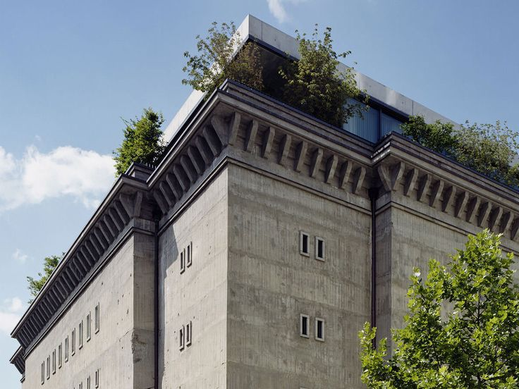 Berlin's Reichsbahnbunker, built in 1942, has lived many lives—first as an air raid bunker, then as an East German banana storage facility, and finally as a techno club before shutting down. After four years of renovation, the building was reborn in 2008 as Sammlung Boros, a private contemporary art collection. Open only by appointment, the gallery features artists such as Ai Weiwei, Wolfgang Tillmans, and Olafur Eliasson.