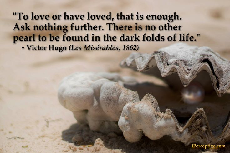 """Victor Hugo Quote: """"To love or have loved..."""""""