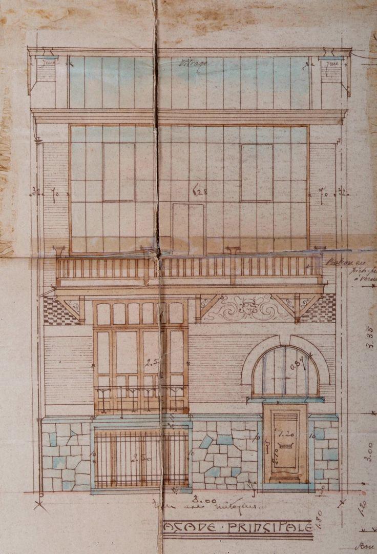 Woluwe-Saint-Pierre - Maison et atelier du peintre Emile Fabry - Rue du Collège Saint-Michel 6 - LAMBOT Émile