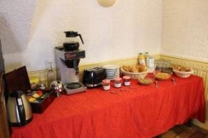 Le buffet de petit-déjeuner