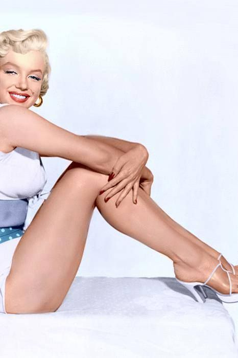 "Marilyn publicity photo for ""The Seven Year Itch"" ~ 1954"