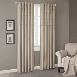 Light Grey Walls Cream Curtains
