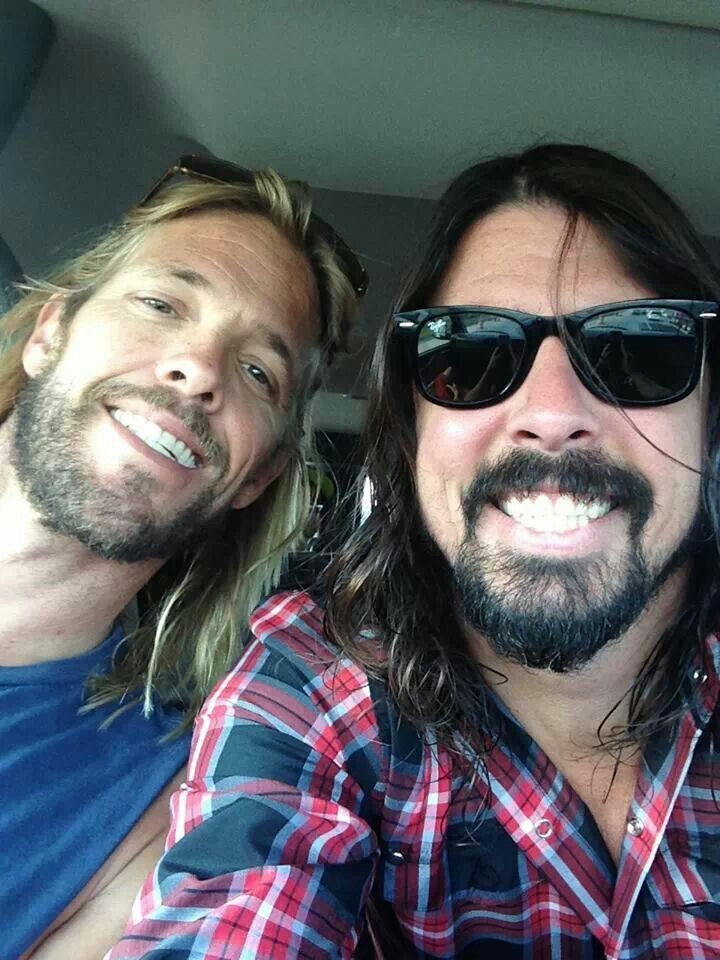 Taylor & Dave of Foo Fighters