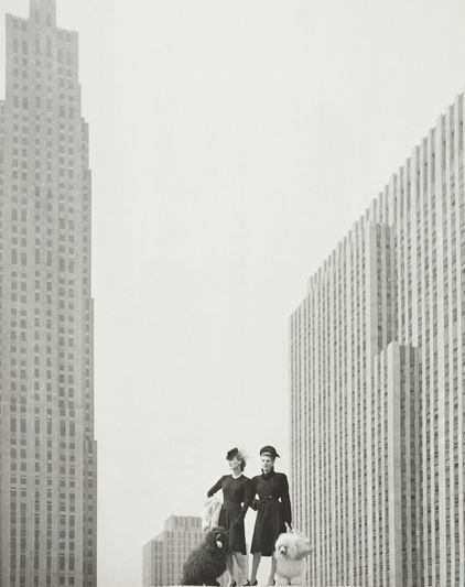 Landshoff, sul tetto di Saks Fifth Avenue, 1942