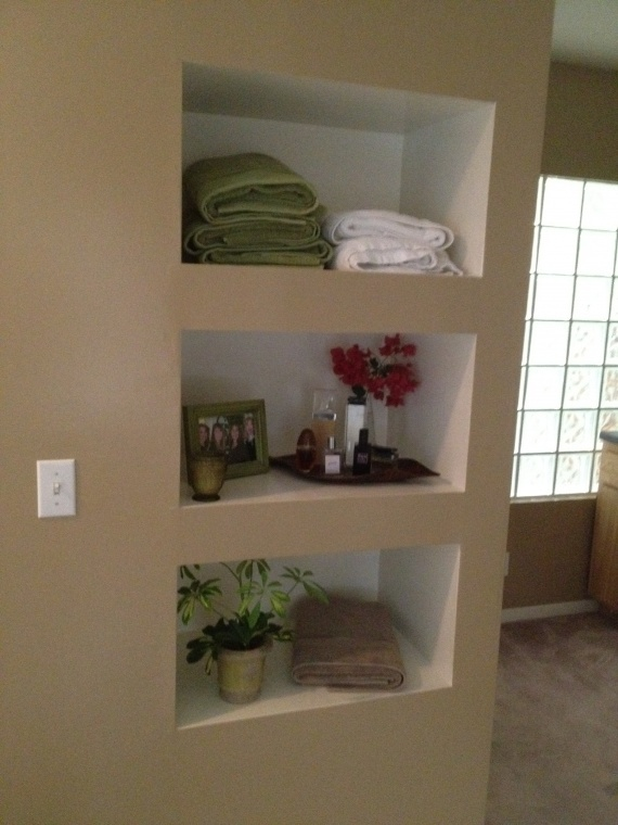 built in wall shelf built in shelves pinterest. Black Bedroom Furniture Sets. Home Design Ideas