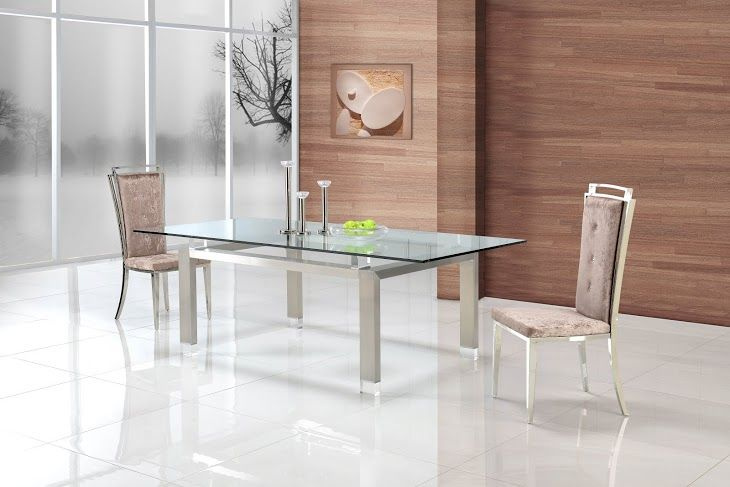 Gainsville provide exclusive glass dining tables
