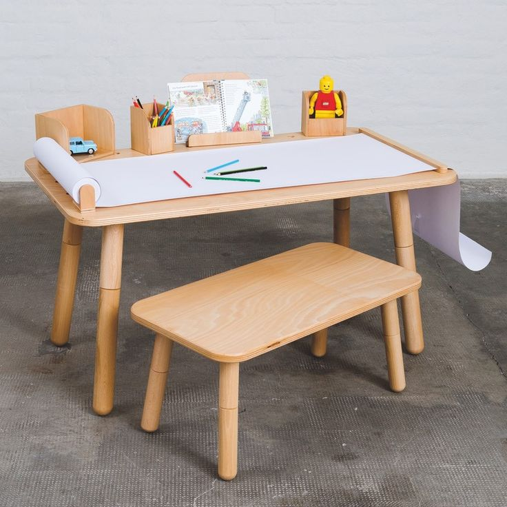 Pure Position Growing Table Tisch 65 X 120 Cm Buche Gallery