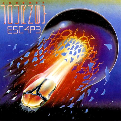 Journey - Escape (cover art by Stanley Mouse)