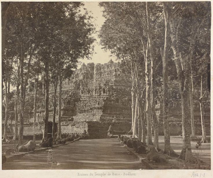 Overblijfselen van de Borobudur
