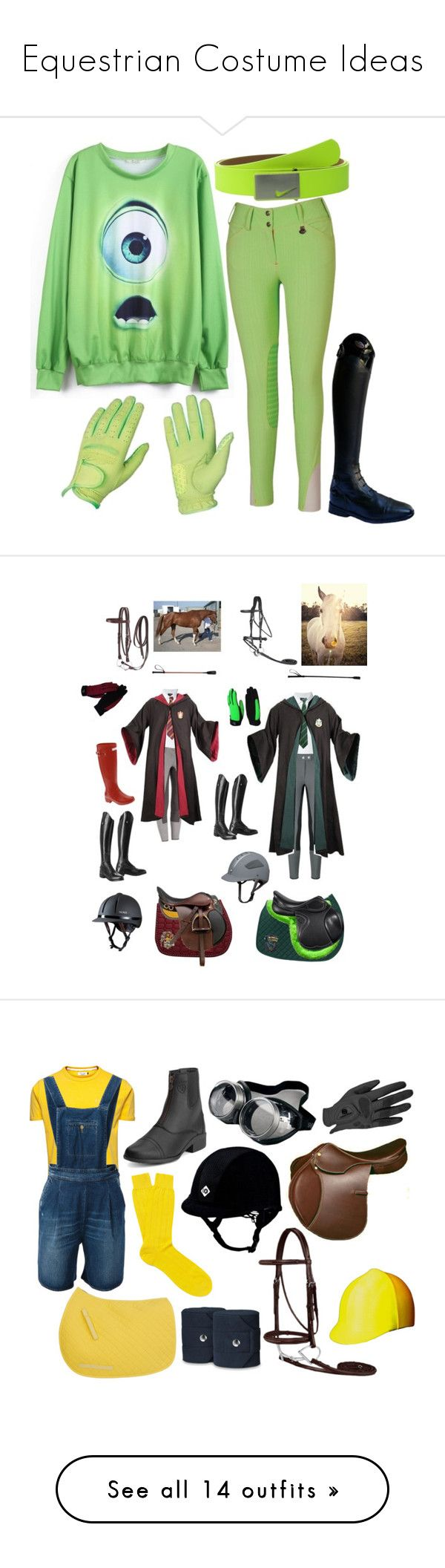 """""""Equestrian Costume Ideas"""" by equestrian-dreaming ❤ liked on Polyvore featuring Parlanti, NIKE, Armani Jeans, Hunter, Universal Lighting and Decor, Jack & Jones, (+) PEOPLE, Pantherella, Ariat and ASOS"""