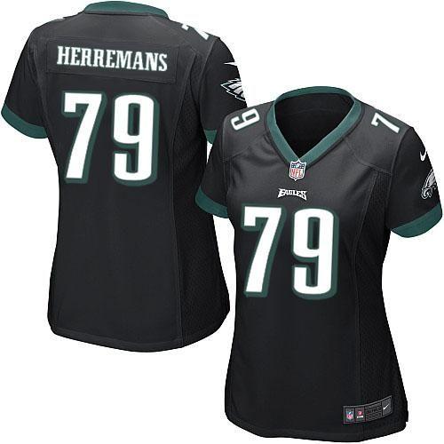 d6a78e2c657 ... vapor untouchable nfl 33407 063cc; low price nike nfl philadelphia eagles  79 todd herremans limited women black alternate jersey sale .