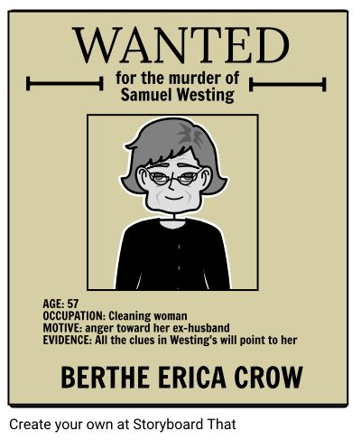 "The Westing Game Wanted Poster -A fun way to enter into the Westing mystery is to have students make predictions about the various ""criminals"" alluded to in the novel. These include Westing's murderer along with the bookie, the bomber, the thief, and the mistake. Really fun student activity!"
