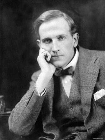 Alan Alexander Milne (1882 – 1956) was a British author, best known for his books about the teddy bear Winnie-the-Pooh and for various children's poems. Milne was a noted writer, primarily as a playwright, before the huge success of Pooh overshadowed all his previous work.