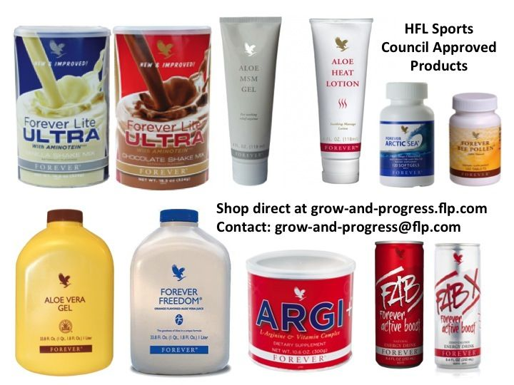 Serious about competitive sport? Then take a look at Forever Products for Sports Professionals.  Forever have a number of products which are tested and certified by the HFL Sports Science: - Aloe Heat Lotion - Aloe MSM Gel - Forever Arctic Sea - Argi+ - Forever Bee Pollen - Forever Freedom - Aloe Vera Gel - Forever Lite Ultra Vanilla with Aminotein - Forever Lite Ultra Chocolate with Aminotein - FAB - FAB X. Take a look and order from my web shop - http://www.julian.myforever.biz/store.
