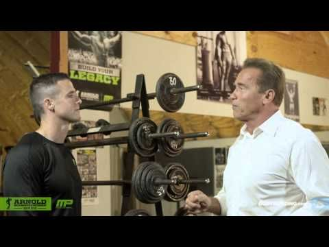 Damn - really helpful! His attitude rocks. Gives advice on championing basics (i.e. compound mvm't - pull ups, squats, dead lifts...), plus nutritional advice & how do trick/shock muscles. Great motivation!>>> How To Train For Mass | Arnold Schwarzenegger's Blueprint Training Program - YouTube