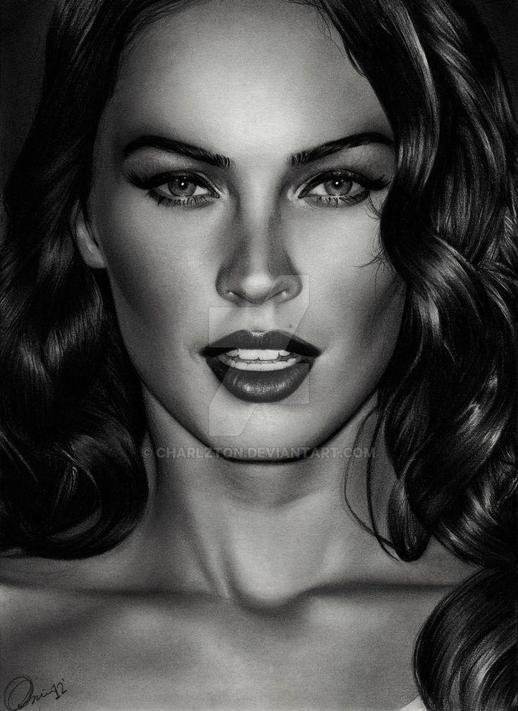 Megan Fox 3 by Charlzton.deviantart.com on @DeviantArt