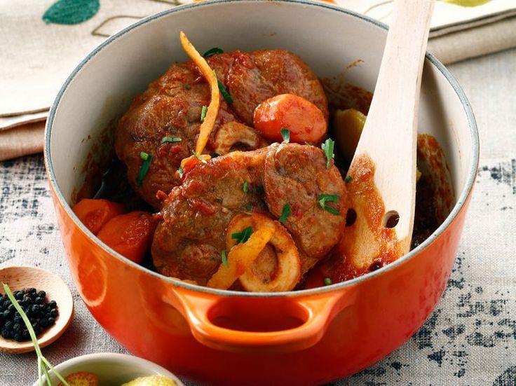 Découvrez la recette Osso bucco de veau sur cuisineactuelle.fr.