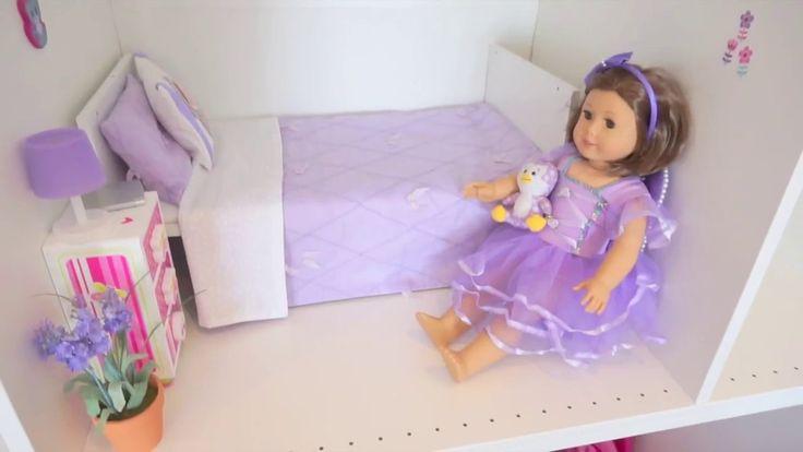 DIY American Girl Doll House - Using Ikea's Pax Wardrobe shelves