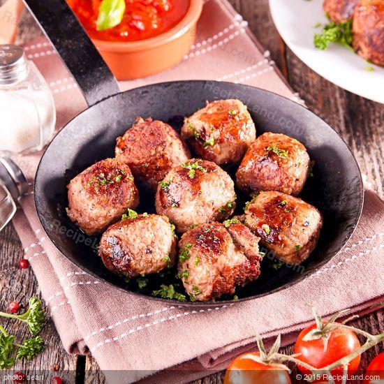 Authentic Italian Meatballs: Authentic Italian Meatballs recipe