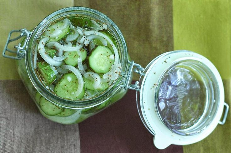 Crisp Refrigerator Pickles | Veggies | Pinterest