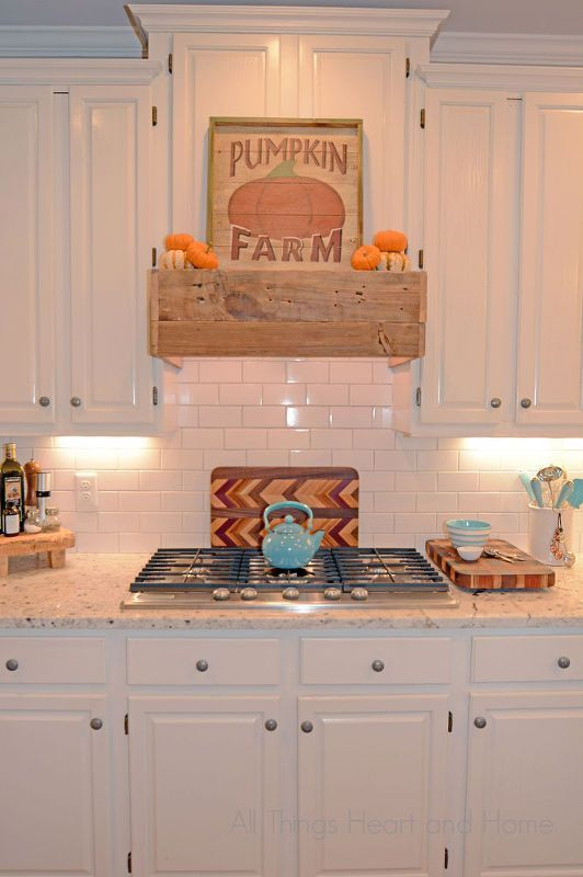 rustic range hood, diy, kitchen design, wall decor Kitchen in 2018