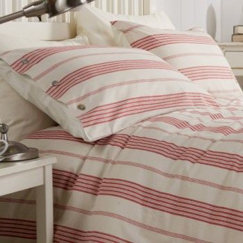 10 Best Images About Red Stripe Duvet Cover On Pinterest