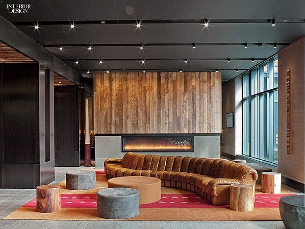 Zen and the Art of Urban Existence: Abington House Interiors by Clodagh   Projects   Interior Design
