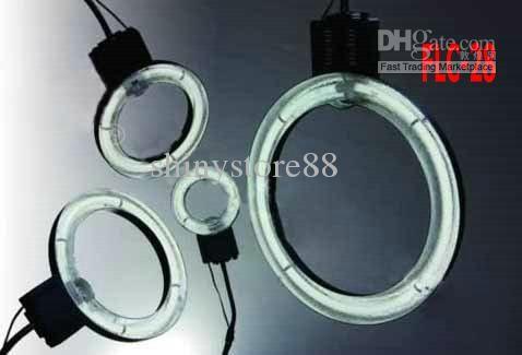 Макро 28 LED Видео Кольцевая вспышка Свет лампы камеры Люминесцентная лампа кольцо света без тени лампы FLC-28
