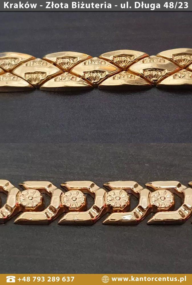 Masywne Zlote Bransoletki Meskie I Damskie Dostepne Na Naszym Koncie Olx Jewelry Bracelets Diamond Bracelet