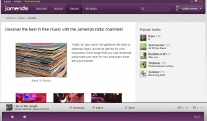 Jamendo - un radio online, unde poti descarca muzica ascultata