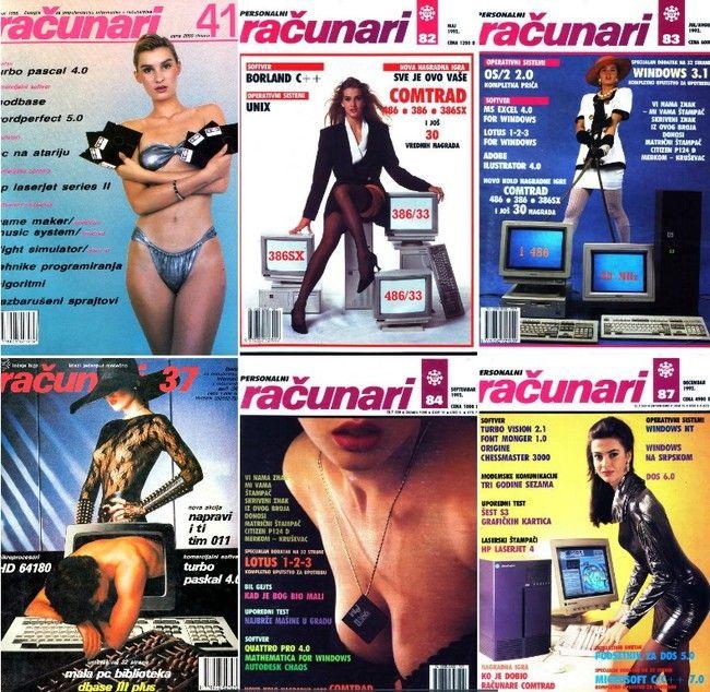 Auge y caída de Racunari la revista de informática yugoslava de las portadas machistas
