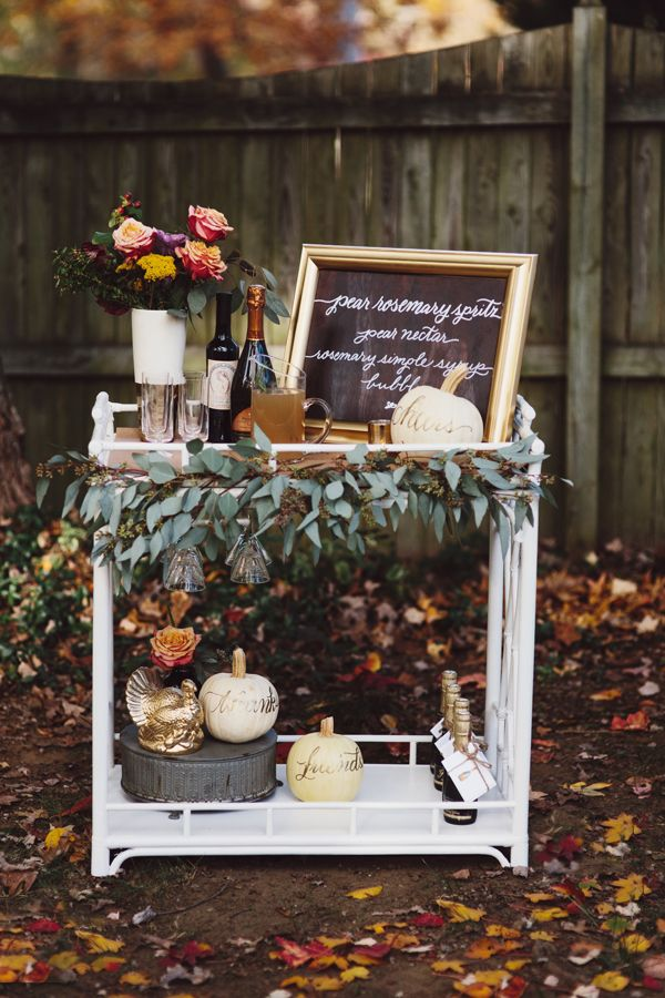 Last-Minute Thanksgiving Entertaining Ideas | theglitterguide.com
