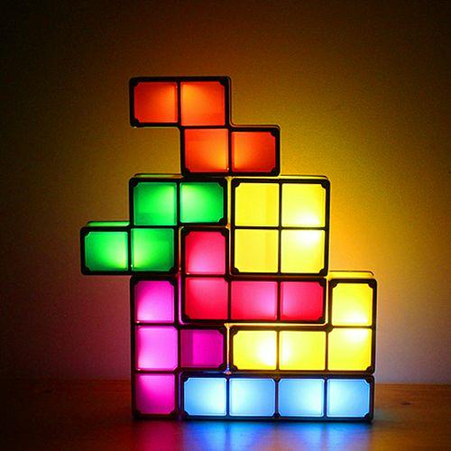 Tetris Bürolampe