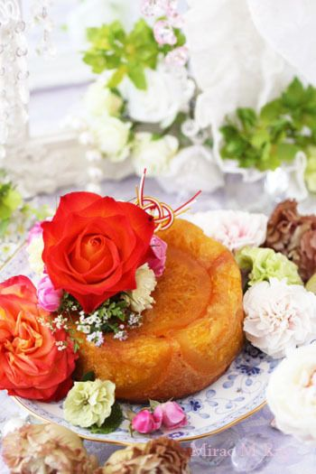 Hassaku & Blood Orange Butter Cake はっさく&ブラッドオレンジバターケーキ