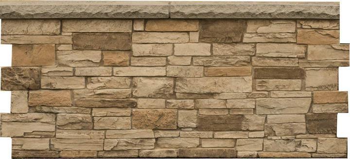 Ledgestone Wainscot Dp2730 Faux Stone Panels Faux Stone Sheets Stone Panels
