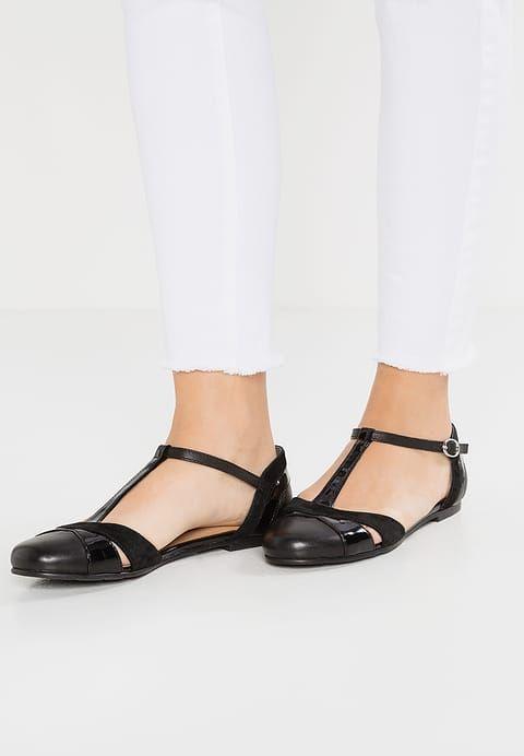 Schoenen mint&berry Ballerina's met enkelbandje - black Zwart: € 49,95 Bij Zalando (op 20-7-17). Gratis bezorging & retour, snelle levering en veilig betalen!