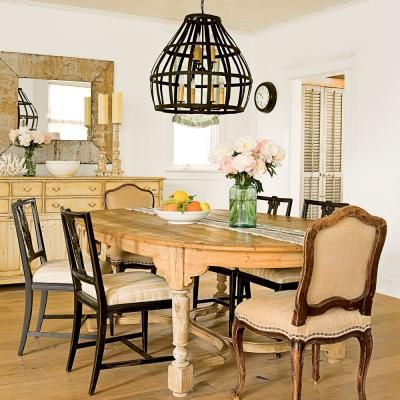 158 best Dreamy Dining Rooms images on Pinterest   Home decorating ...