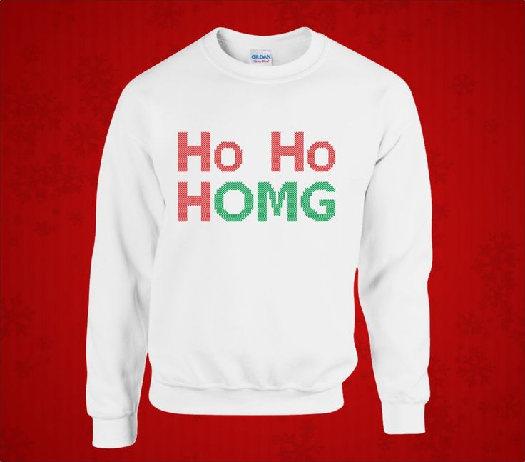HO HO HOMG!!! Do you get a little over excited over Christmas time? Are you a little bit like Buddy the Elf? Yes? Us too! Whether it be for the times when you walk into a shop and find it to be kitted out like Santa's Grotto or when you need to put a Scrooge in their place for telling you off about Christmas songs 'too early' (whatever that is!) - this is the perfect Christmas jumper for you!