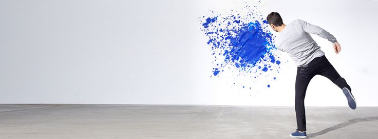 Paint It Blue with #Mavi #advertising