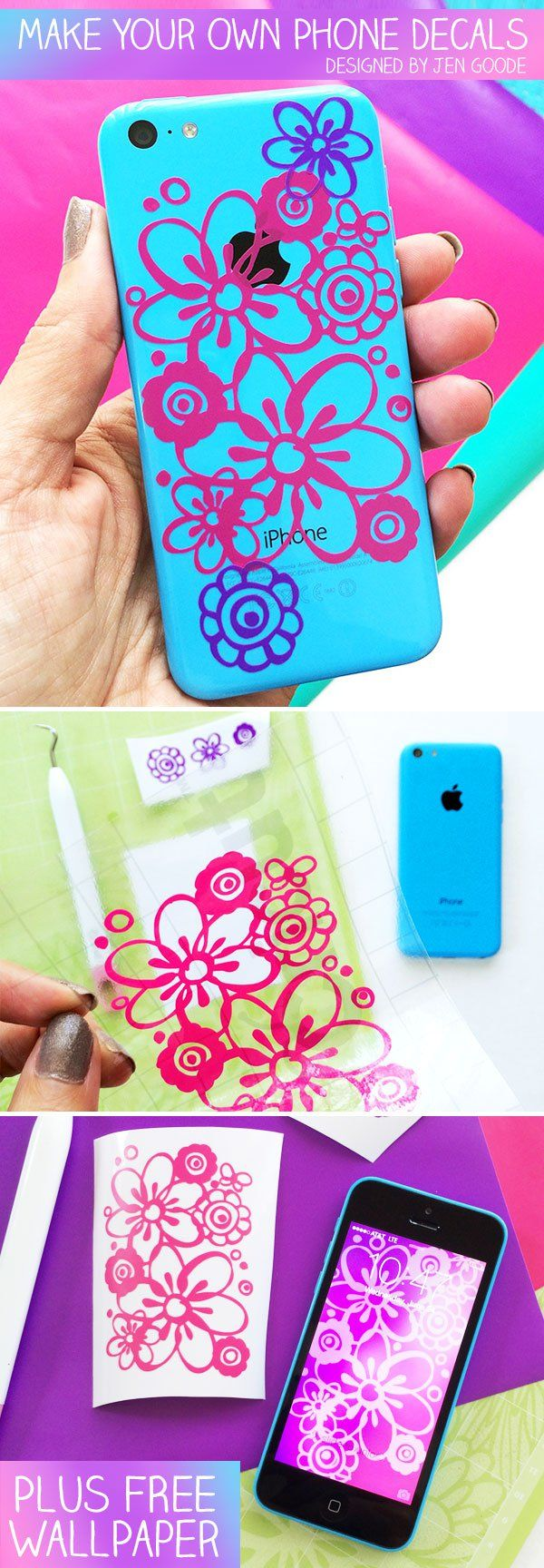 Make iphone decals with your iphone and cricut machine for Dishwasher safe vinyl lettering