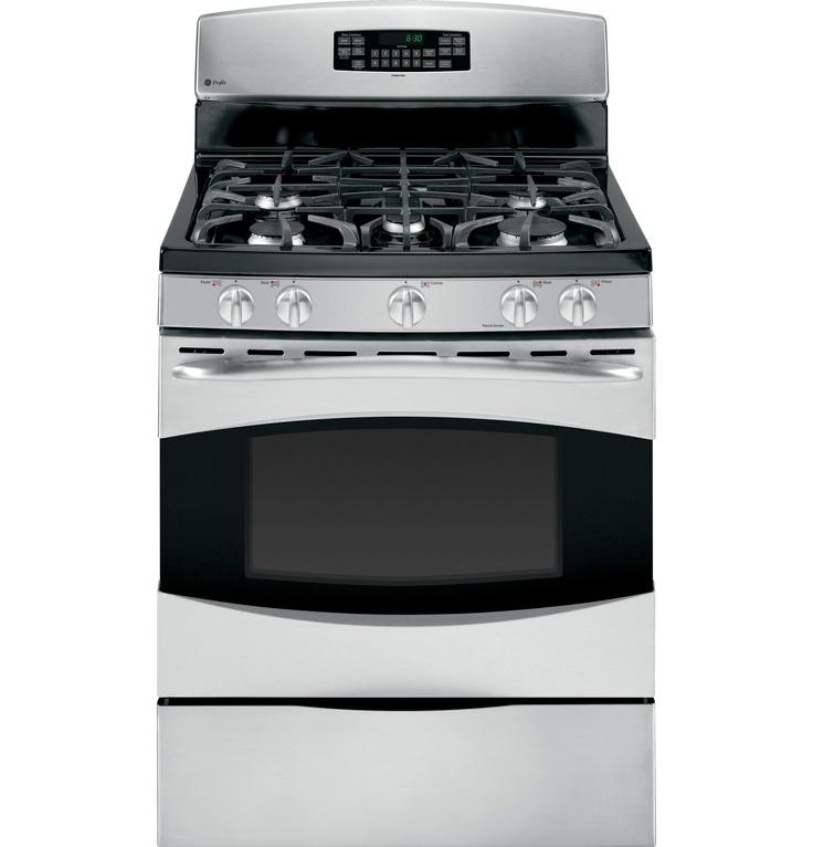 "+++ PGB910SETSS   GE Profile™ 30"" Free-Standing Self Clean Gas Range   GE Appliances"