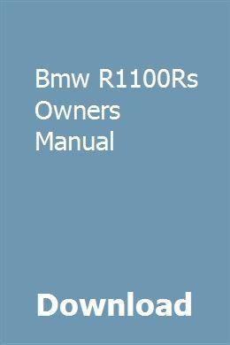 bmw manual book ebook