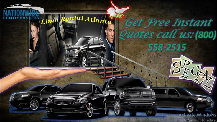 Limo nationwide offers 24 hour service, 365 days a year to meet all of your Limo Rental Atlanta needs. The professional staff at Limo nationwide is known for dependability, flexibility and making your ground travel experience stress free. Booking us immediately and calling us at: (800) 558-2515.Visit us: http://limonationwide.com/atlanta-limo-services/