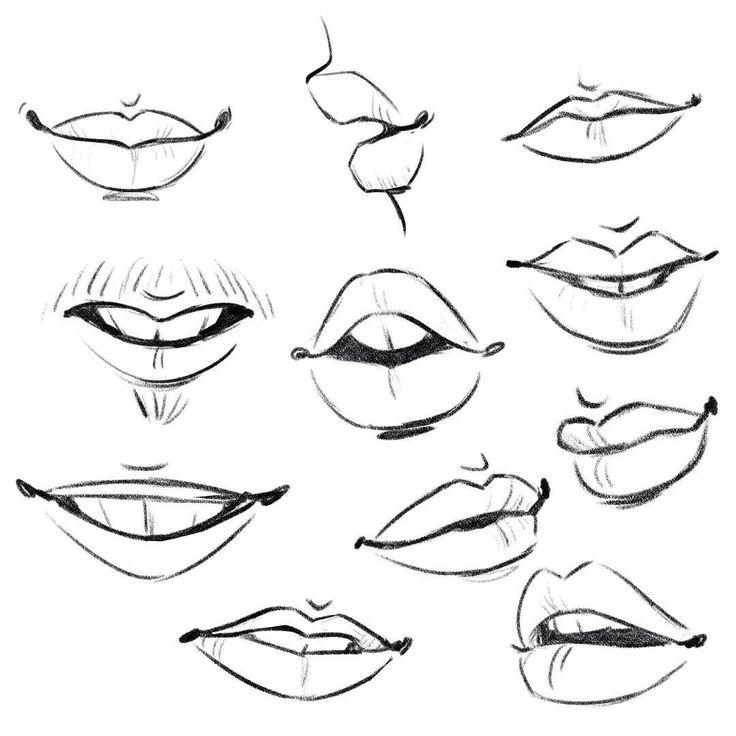 25 Best Drawing Lips Ideas On Pinterest Draw Lips Techniques And Drawings Of