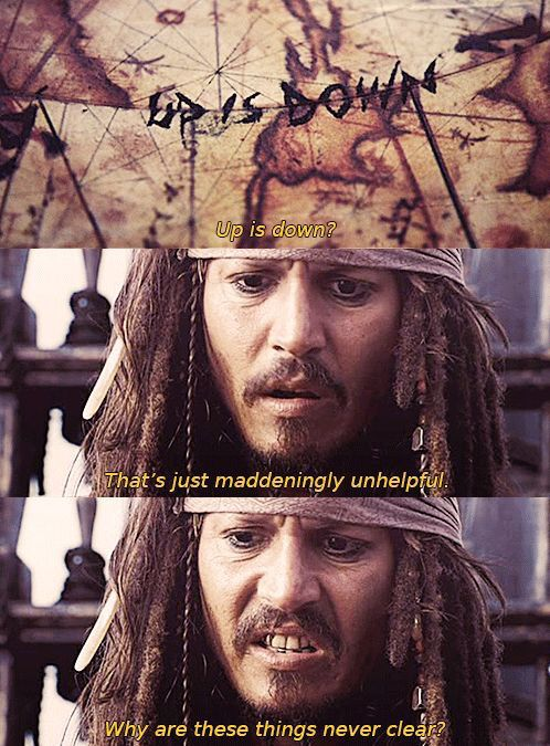 HOLY SHIT JACK SPARROW KNEW ABOUT THE UPSIDE DOWN AND HOW TO GET TO IT CENTURIES BEFORE ELEVEN WAS BORN